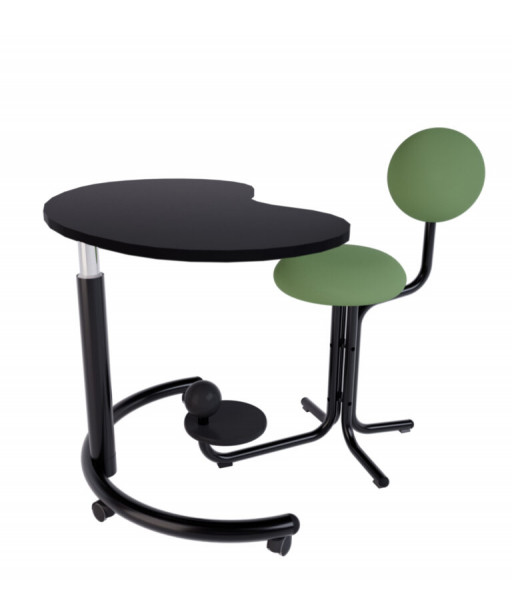 Bureau assis debout - GLOBE CONCEPT Table Form2G